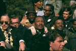 Martin Luther King, Reverend Ralph Abernathy, Andrew Young and other Civil Rights Leaders